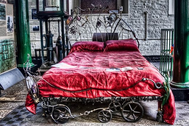 Steampunk Bed Frame