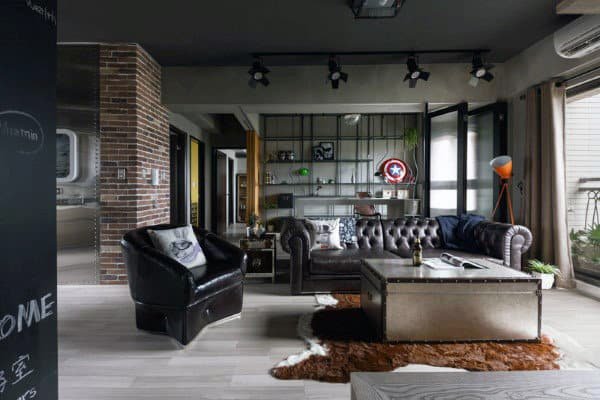 Steel Structures with Male Living Space