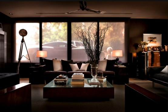 Stylish and Refined Male Living Space Ideas