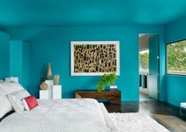 20 Impressive Turquoise Room Design Ideas 6
