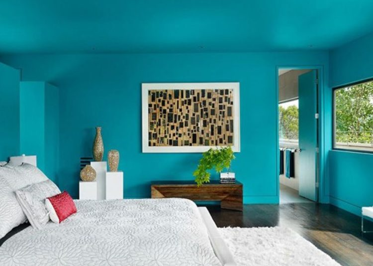 Turquoise Room Ideas Design For Big Family 27