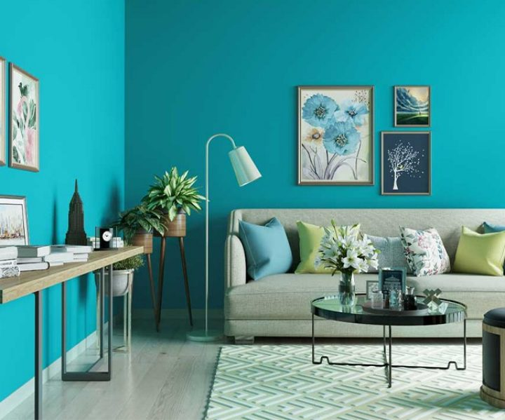 Turquoise Wall Paint