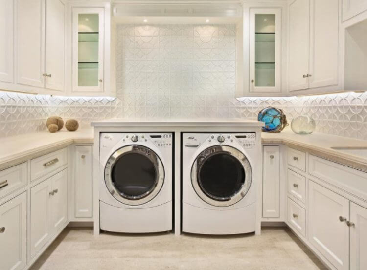13 Best of The Best Basement Laundry Room Design Ideas