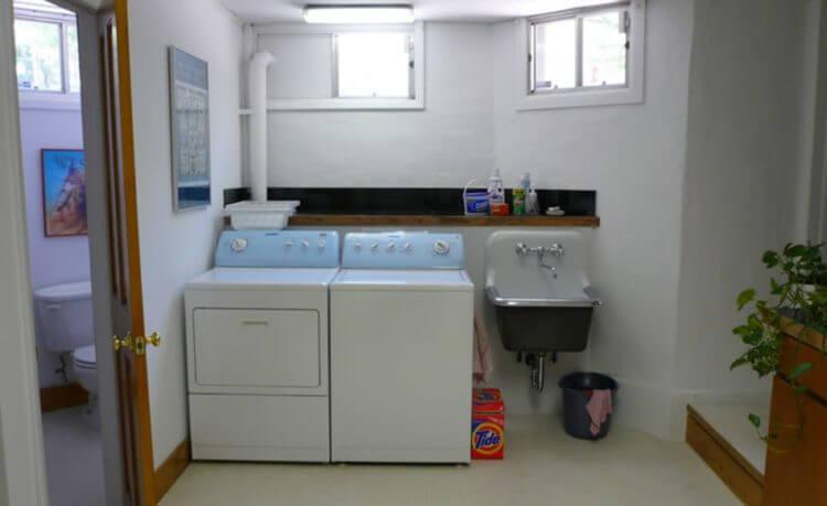 Basement washing room ideas
