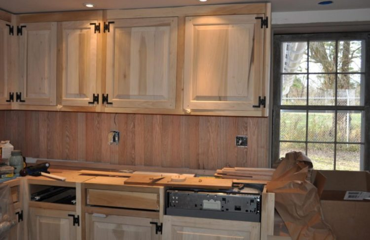 Ceramic Beadboard Backsplash