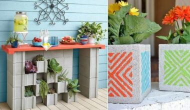 Enchantingly Beautiful Cinder Block Ideas that You Can Use for Your Garden 23