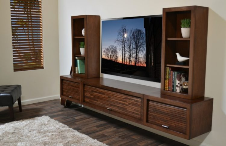 DIY Entertainment Center Design Ideas For Fabulous Living Room