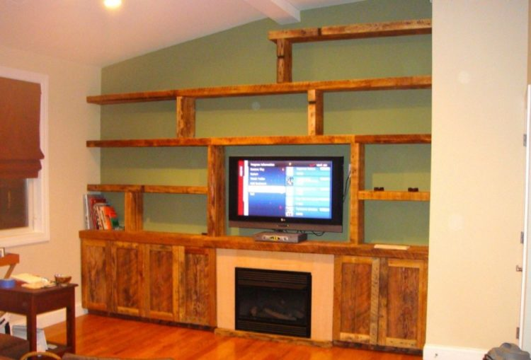 Simple DIY Entertainment Center