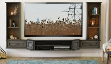 20+ Best DIY Entertainment Center Design Ideas For Fabulous Living Room 4