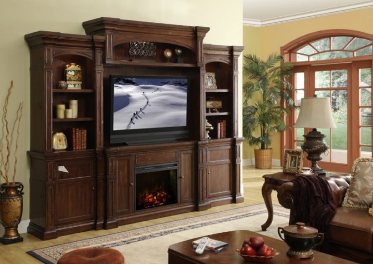 diy rustic entertainment center - Entertainment Center Design Ideas