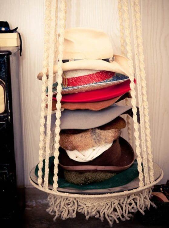 15 best hat rack ideas for your lovely room pros cons for Diy hat organizer