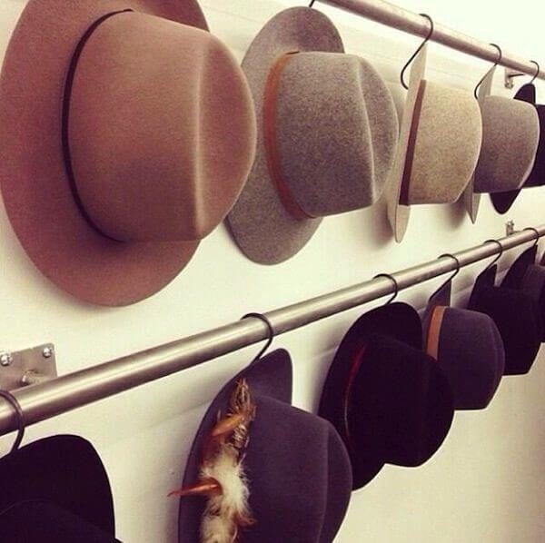 'Hat rack ideas' from the web at 'https://theskunkpot.com/wp-content/uploads/2017/05/hat-rack-ideas.jpg'