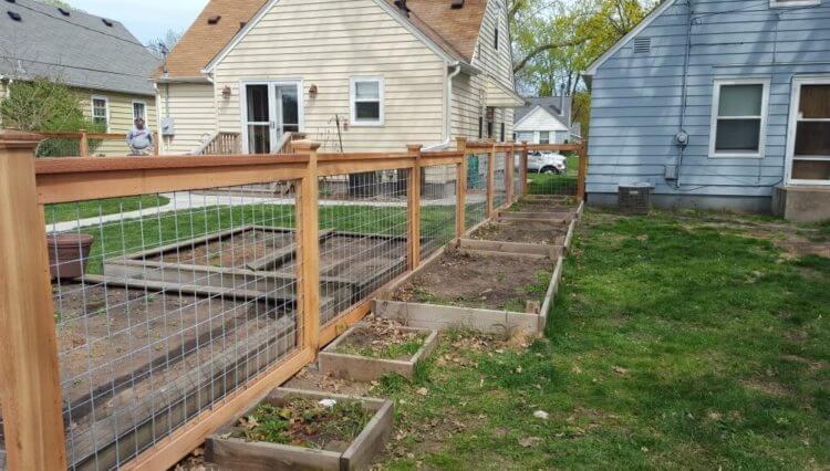 Hog Wire Fence design
