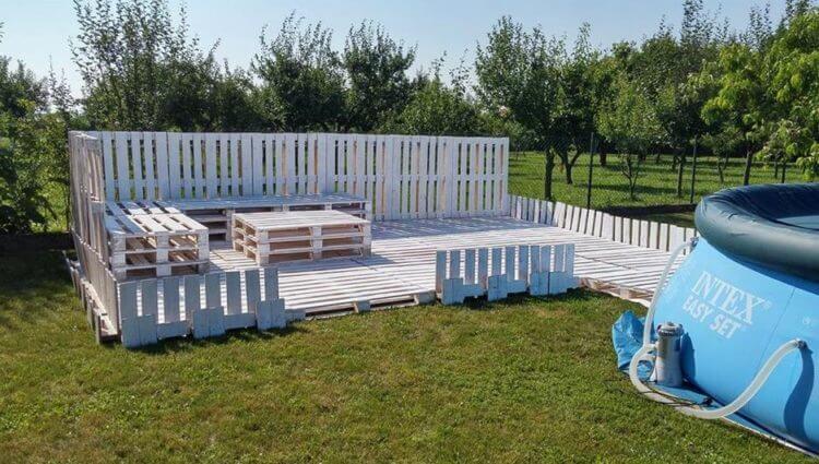 Pallet Fence Design