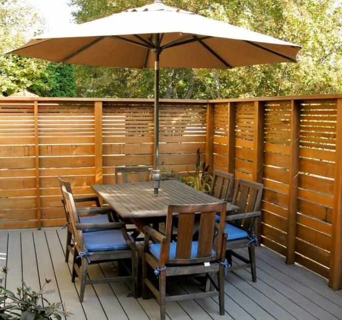 Pallet Fence Ideas 2