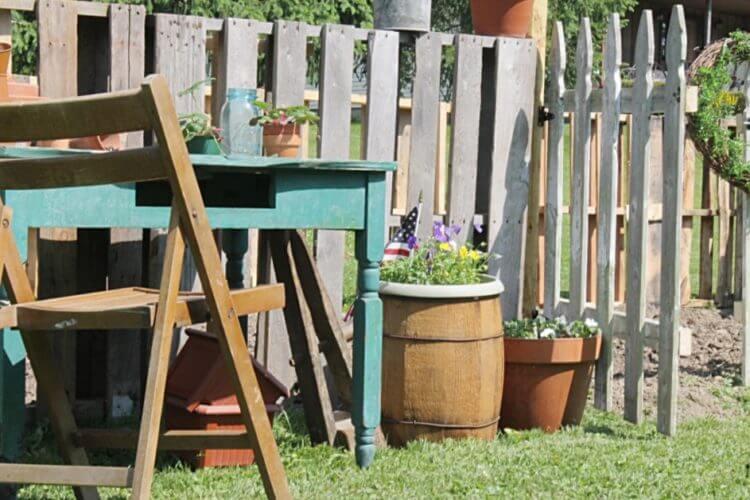 Pallet Fence DIY