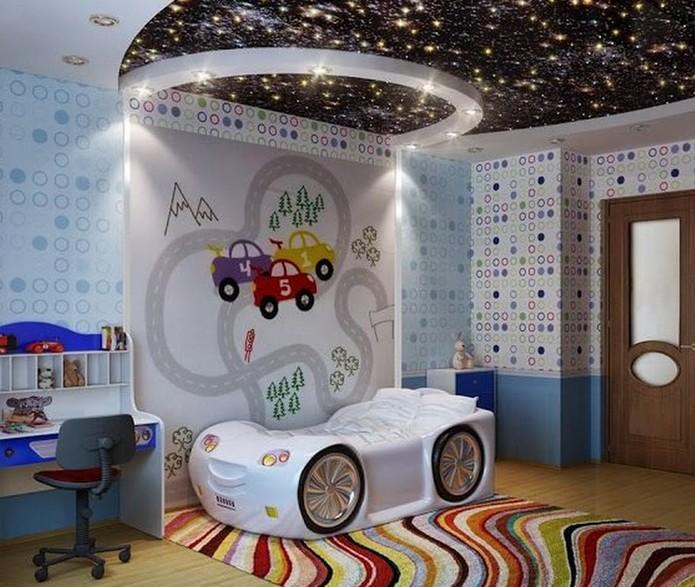 Space Theme Room Design