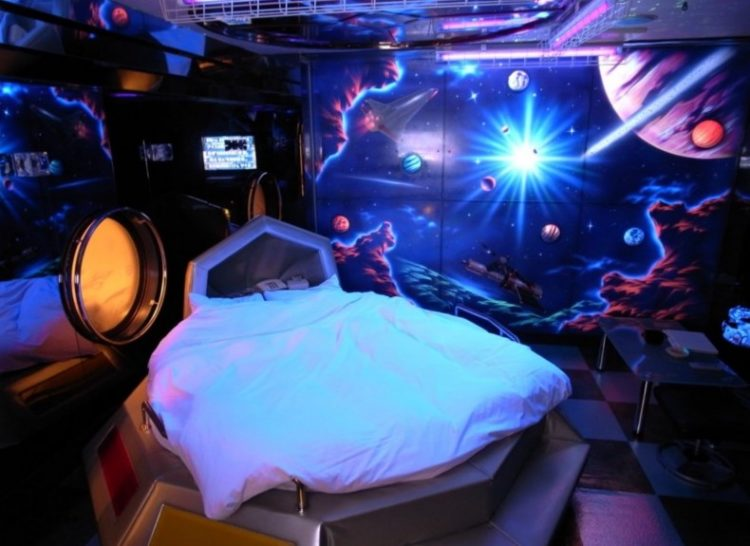 Wonderful Space Theme Room Design For Children 6