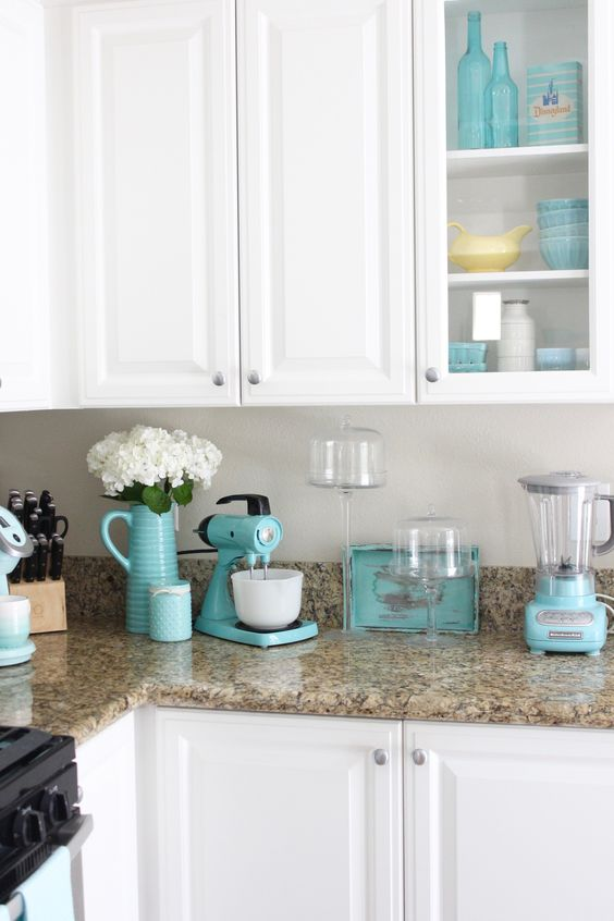 Turquoise Appliance
