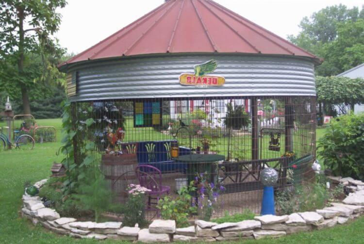 Grain Bin House Ideas