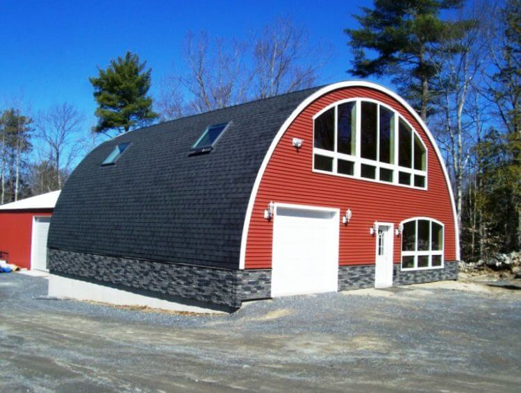 27 unique quonset hut homes for wonderful living atmosphere for Quonset hut