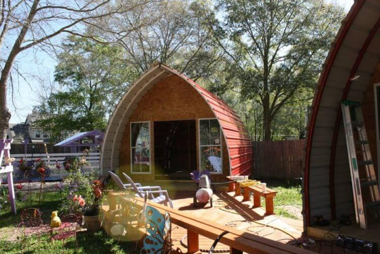 27 Unique Quonset Hut Homes For Wonderful Living Atmosphere