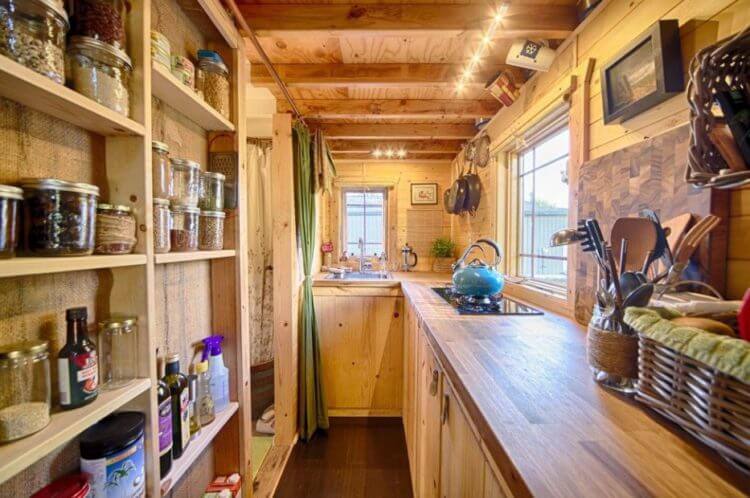 tiny house full kitchen