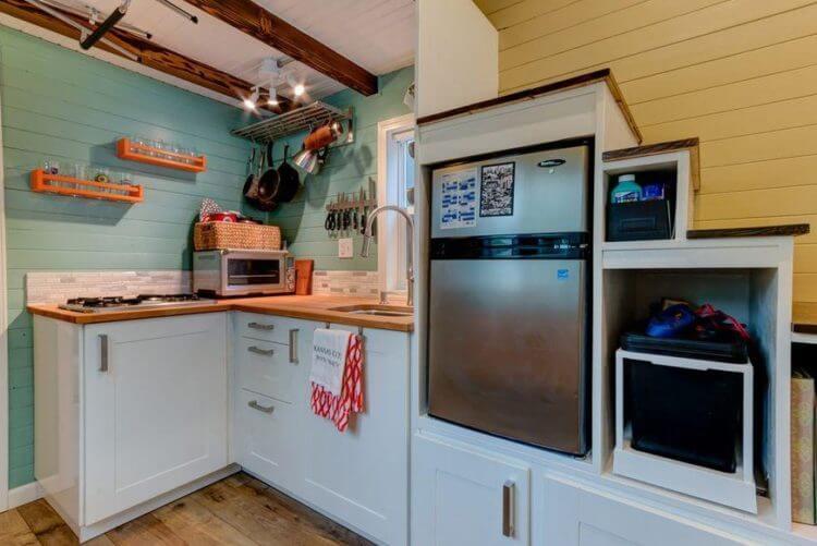19 Stunning Tiny House Kitchen Design Ideas TSP Home Decor