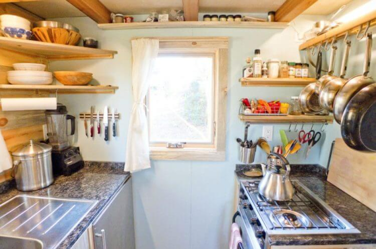 tiny house kitchen essentials - Tiny House Kitchen