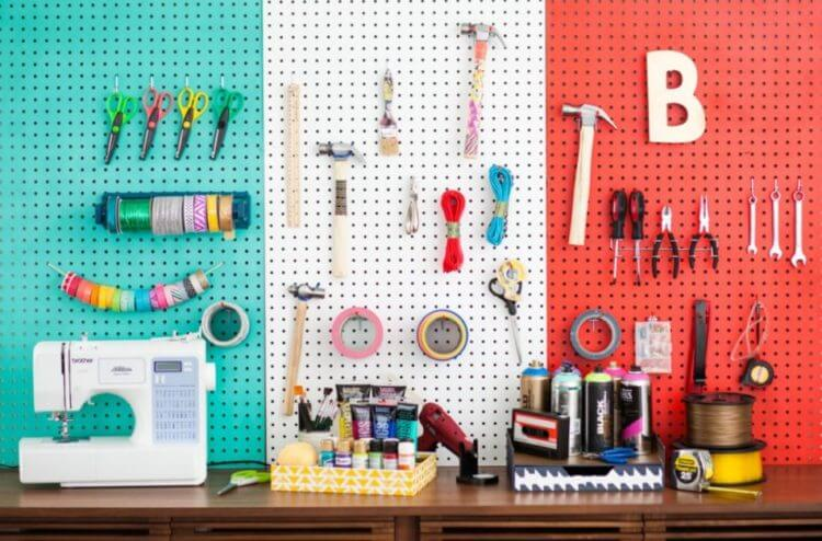 DIY Pegboard Ideas