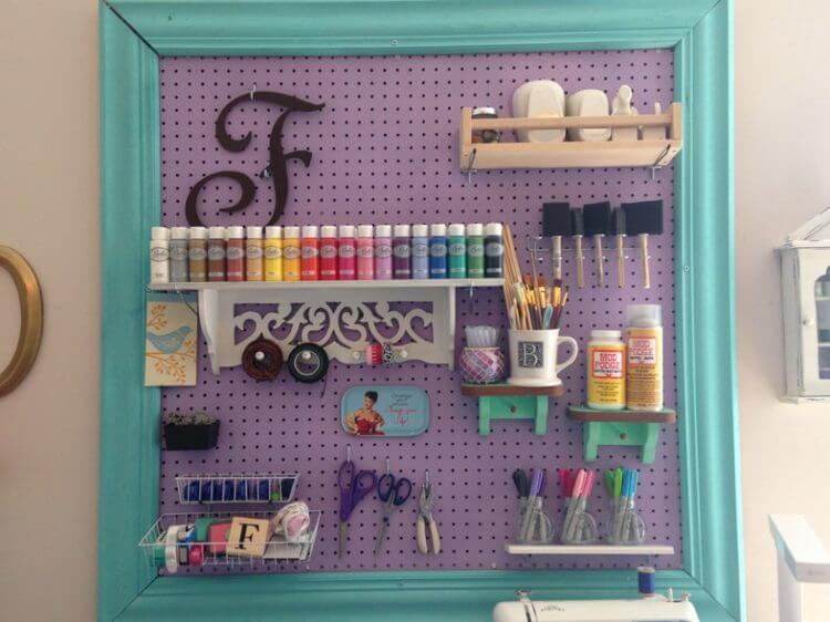 Do-It-Yourself Pegboard