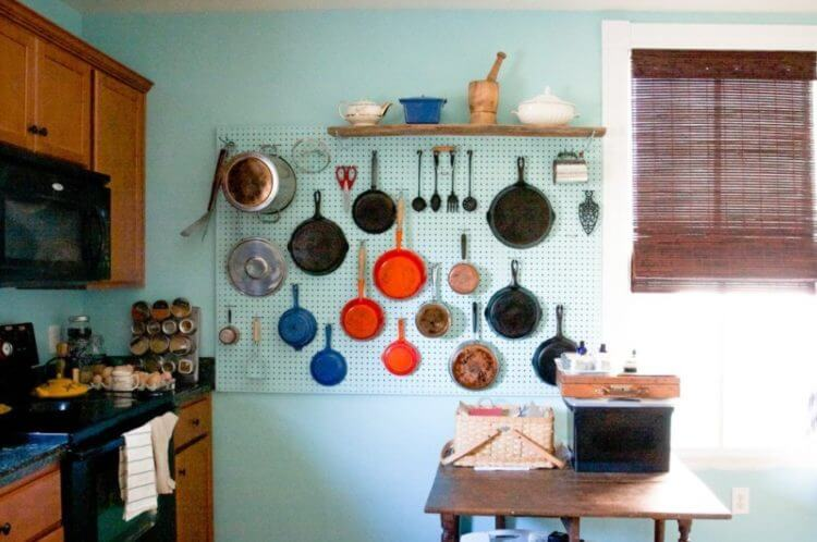 47 easy ways to get organized use of diy pegboard ideas