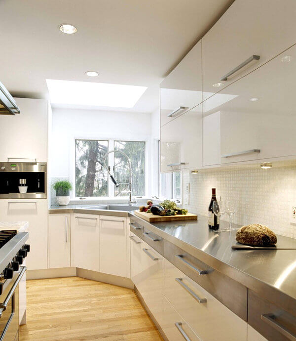 15 Amazing Stainless Steel Countertop Ideas to Jazz Up Your Kitchen 5