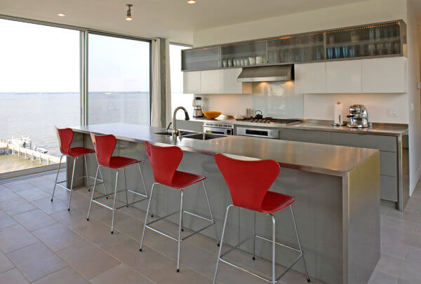 15 Amazing Stainless Steel Countertop Ideas to Jazz Up Your Kitchen 6