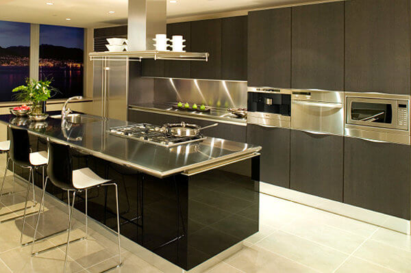 15 Amazing Stainless Steel Countertop Ideas to Jazz Up Your Kitchen 7