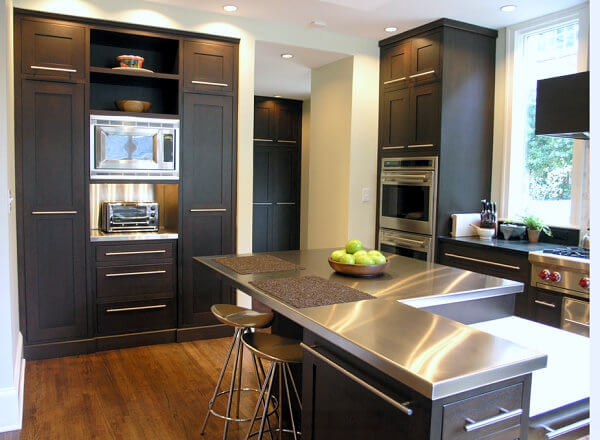 15 Amazing Stainless Steel Countertop Ideas to Jazz Up Your Kitchen 11