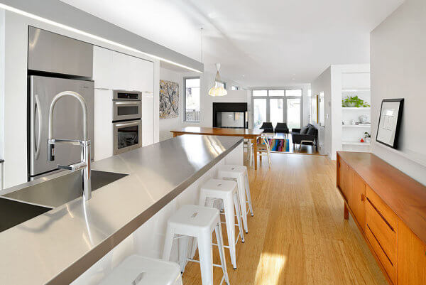 15 Amazing Stainless Steel Countertop Ideas to Jazz Up Your Kitchen 15