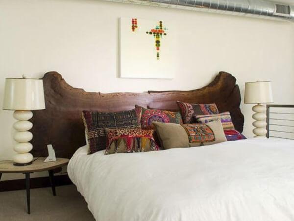 Unique Wooden Headboard in Modern Bedroom Style & 17 Unique Modern Headboard Ideas For Stylish Bedroom Area