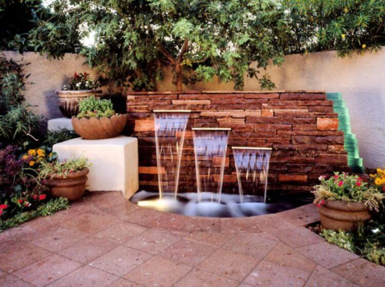 21 Backyard Wall Fountain Ideas To Wow Your Visitors Tsp