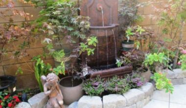 21 Backyard Wall Fountain Ideas to Wow Your Visitors 26