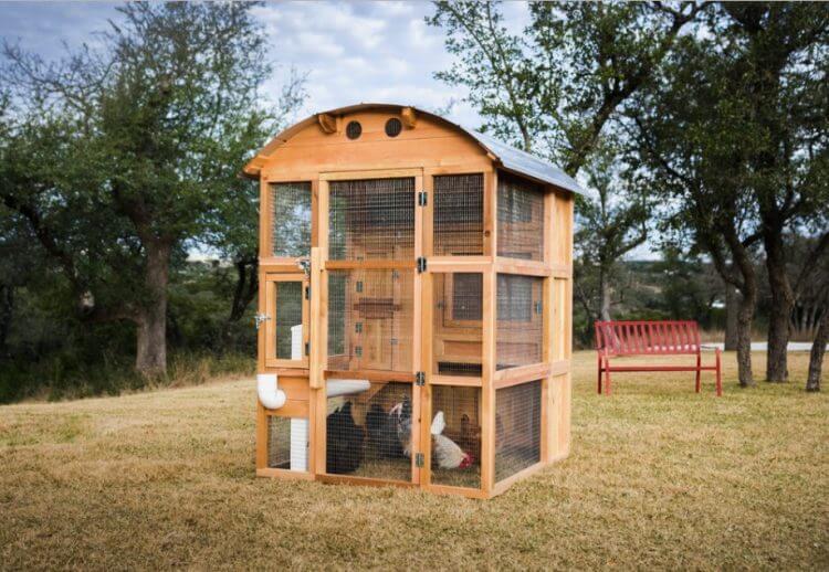 19 Outstanding Chicken Coop Ideas to Inspire You 19