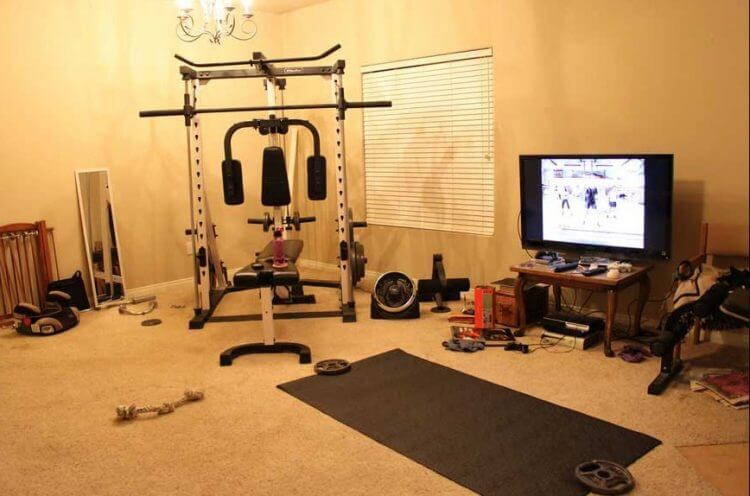 23 Best Home Gym Room Ideas For Healthy Lifestyle 20