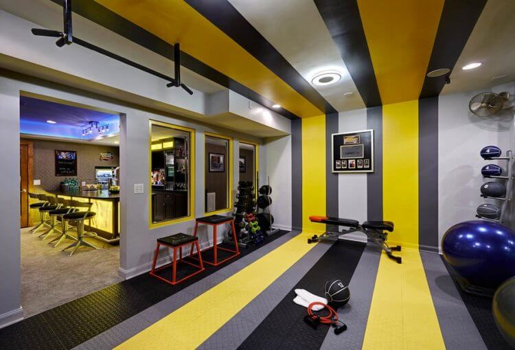 23 Best Home Gym Room Ideas For Healthy Lifestyle 13