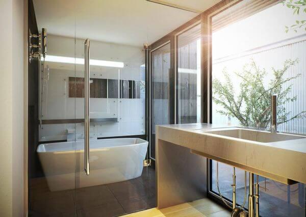 17 Japan Bathroom Ideas to Get Your Zen On 11