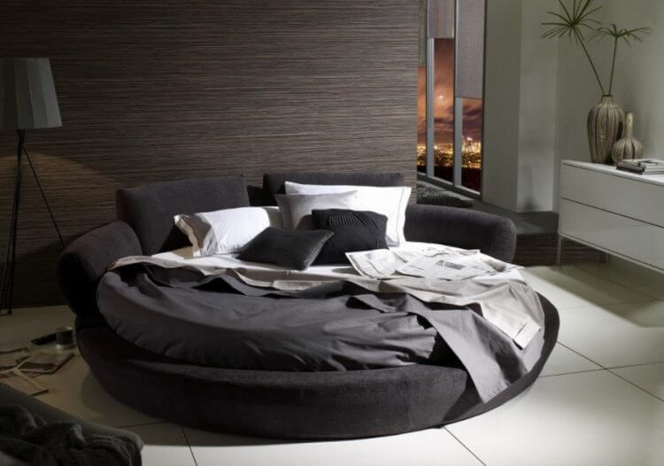 10 Modern Classic Round Beds Design For Exciting Bedroom Area