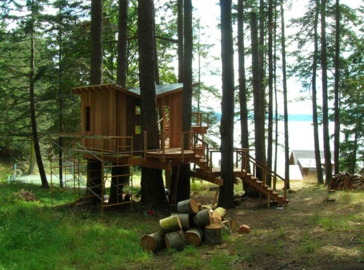 28 Amazing Treehouse Design Ideas that Will Inspire You 2
