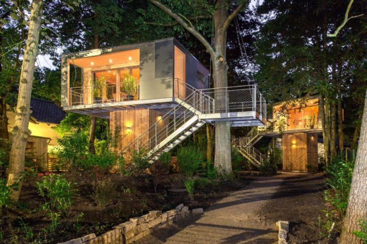 28 Amazing Treehouse Design Ideas that Will Inspire You 4