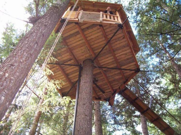 21 Unbeliavably Amazing Treehouse Ideas that Will Inspire You 7