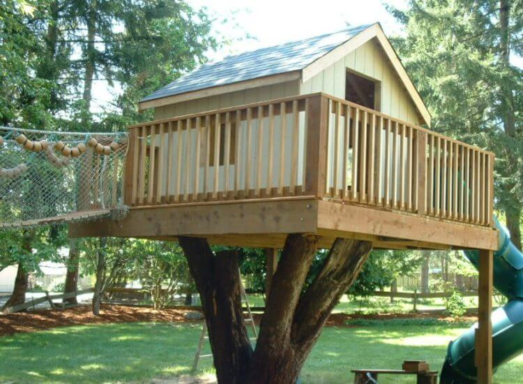 Little Treehouse Ideas For Kids Playground