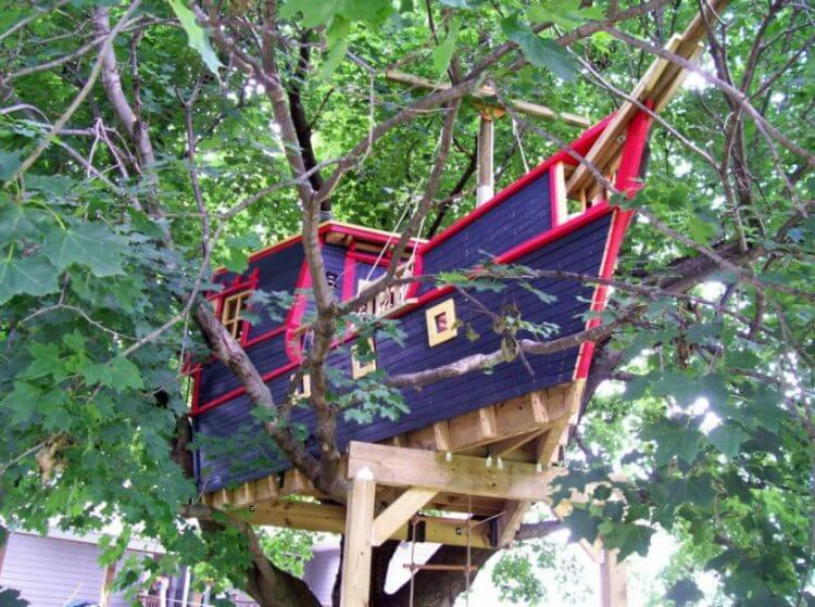28 Amazing Treehouse Design Ideas that Will Inspire You 10